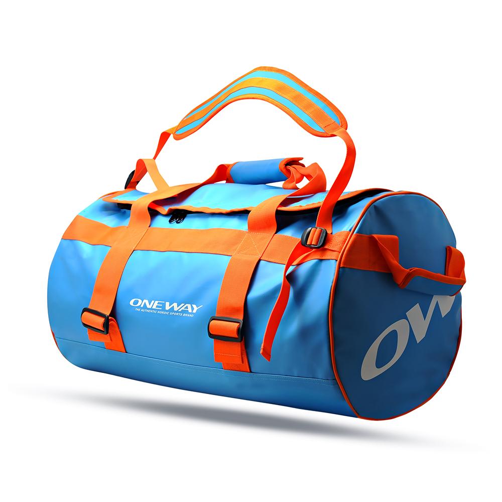 ONEWAY DUFFLE DOO 60L bag, blue orang OW 90137