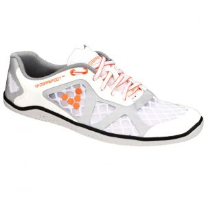 Vivobarefoot - SS13 One TC Lady White-Orange