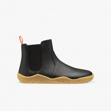 Vivobarefoot Fulham Leather Junior Black