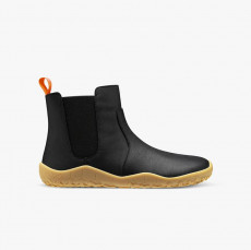 Vivobarefoot Fulham Leather Junior Obsidian