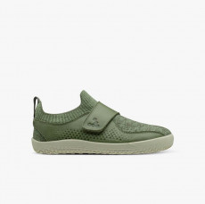 Vivobarefoot Primus Knit Wool Kids Botanical Green