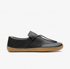 Vivobarefoot RA Slip ON Ladies Black Leather