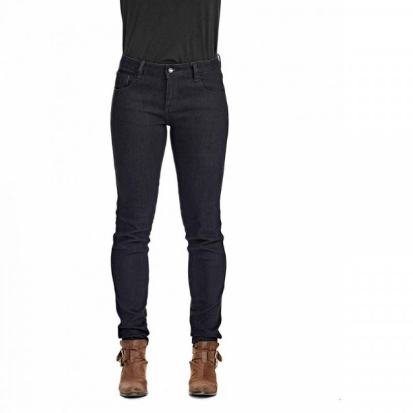 Saint-Moto Women's Mid Rise Stretch Jeans - Dark Indigo