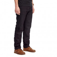 Saint-Moto Unbreakable Relaxed Straight Jean - Jet Black