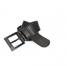 Saint-Moto Saint Leather Belt - Matte Black