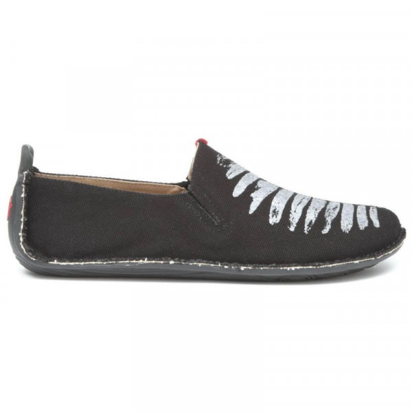 Vivobarefoot Ababa Canvas Birdie Black Men