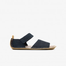 Vivobarefoot Ababa Leather SandalsKids Navy