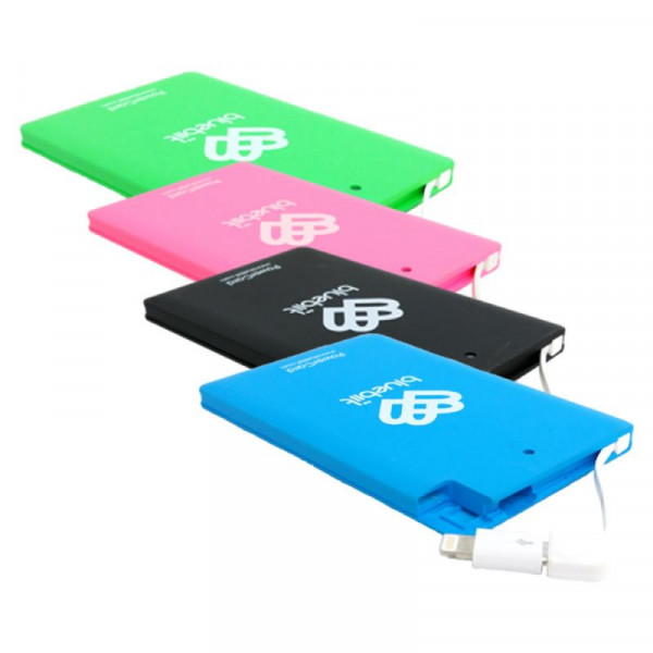 Bluebiit PowerCard Varavirtalähde 2500mAh