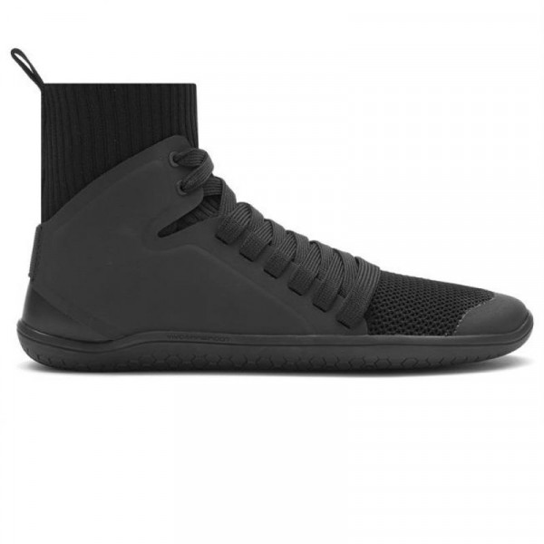 Vivobarefoot Kanna Hi Knit Ladies Black