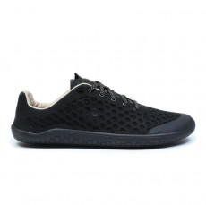 Vivobarefoot Stealth 2 black lux Leather Lady